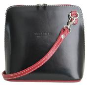 Handbag Bliss Italian Leather SMALL Crossover Crossbody Handbag Shoulder Bag
