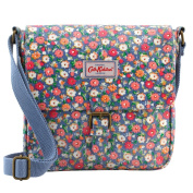 Cath Kidston Oilcloth Cross Body Mini Satchel Bag 16SS Mews Ditsy Colour Blue