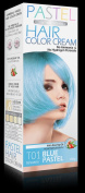 Premium PASTEL Hair Colour Cream Dye Goth Cosplay Emo Punk Baby Blue Turquoise - No Ammonia / Hydrogen