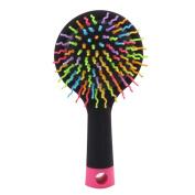 Massage Hair Brush Body Brush Hair Combs Mirror Shampoo Scalp Scrubber No.1