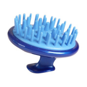 Massage Hair Brush Body Brush Hair Combs Shampoo Scalp Scrubber Hair Care Blue