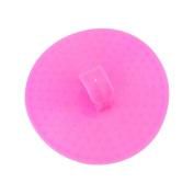 2 PCS Massage Hair Body Brush Hair Combs Shampoo Scalp Scrubber Hair Care - Pink