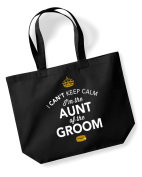 Aunt of The Groom, Aunt Of The Groom Bag, Tote Bag, Aunt Of The Groom Keepsake, Grooms Aunt, Grooms Aunt Gift, Grooms Aunt, Aunt of the Groom, Grooms Aunt Gift