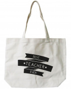 "365 Printing Women's ""Best Teacher Ever"" Tote Bag"