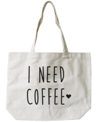 365 Printing Women's I Need Coffee Tote Bag