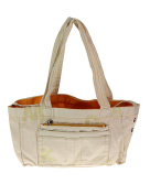 Mandarina Duck Women's Shopping Tote Bag White Natural/V2T04984