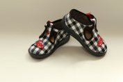 Slippers,Toddlers, Boys,Velcro, Snap, Laced shoes, Multicoloured, Lovely colours,Countured Footbed,Delicately stiffened, Natural material, Canvas ,Anti-skidding, UK size 2UK - 19EU, 3UK - 20EU, 4UK - 21EU, 5UK - 22EU, 6UK - 23EU, 7UK - 24EU, Happy Feet ..