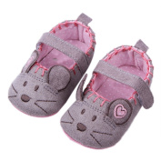 GenialES Baby Girls Infant Cute Cartoon Soft Sole Shoes