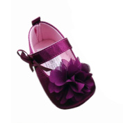 GenialES Baby Girls Toddlers Soft Sole Shoes with Flower