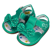 For 0-3 Years Old,Clode® 1 Pair Kid Toddler New Bowknot Girls Printed Sandals Soft-Soled Baby Summer Shoes