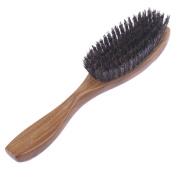Breezelike Professional Green Sandalwood Hair Brush with Boar Bristles