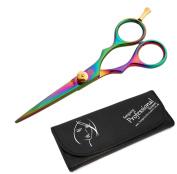 """Sanguine ® Professional Hair Cutting Scissors - 5.5"""" (14cm) + Presentation Case"""