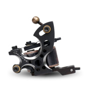 Compass Tattoo Machine Plata Liner Steel Frame Copper Coils WQ2062-1