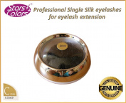 Silk lashes - professional grade lashes, blink lash stylist alternative, C Curl 0,15 mm with 10 mm length, high quality silk eyelashes for eyelash extension! ...