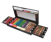 PhantomSky 149 Colours Eyeshadow Palette Makeup Contouring Kit Combination with Lipgloss, Blusher, Press Powder and Concealer - Perfect for Professional and Daily Use
