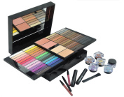 PhantomSky 85 Colours Eyeshadow Palette Makeup Contouring Kit Combination with Lipgloss, Blusher, Press Powder and Concealer - Perfect for Professional and Daily Use