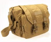 Canvas Shoulder Case Messenger Bag For Digital Sony Nikon Canon DSLR SLR Camera
