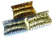 Lapeach Fashions Latest Leopard Print 8cm Hair Claws Grips Clips Hair Clamps Set Of Three