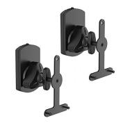 2x Wall Mount Speaker Bracket For Sonos Play 1 & Play 3 Tilt Rotate Swivel