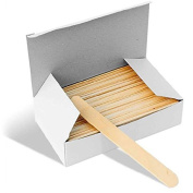 Large Wooden Waxing Spatulas 100/pack | Better Waxing | Disposable