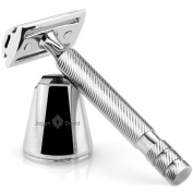 Jagen David ® D5 - Double Edge Razor with Stand - Safety Razor Fits All Double Edge Razor Blades unique Christmas gift for him