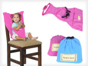 Baby Seat Harness - No Highchair Needed - Pink