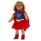 Super Girl Doll Clothes for 46cm Dolls