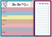 Dodo Daily to Do List Notepad (A4) Classic