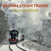 British Steam Trains Calender 2017