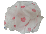 Luxury Bamboo Muslin Swaddle Blanket (120cm by 120cm ) Soft 'n' Snuggly Range for Boys & Girls by Easy Mom & Baby