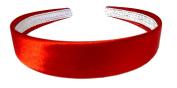 Aliceband - Brightly coloured plain 2.5cm wide satin headband alice band