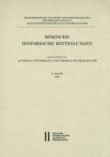 Romische Historische Mitteilungen 57 Band 2015  [GER]