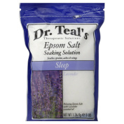 Dr. Teal's Therapeutic Solutions 1420ml Epsom Salt Sleep Soaking Solution in Lavender