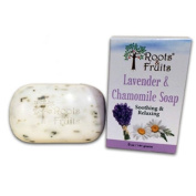 Roots & Fruits Bar Soap - Lavender and Chamomile - 150ml