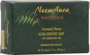 Neemaura Naturals Bar Soap - Neem - Ultra Sens - Cornmeal Honey - 110ml