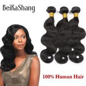 BeiKaShang unprocessed Brazilian virgin hair body wave 3 bundles Human hair extensions weaves 12x12x12