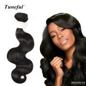 36cm 41cm 46cm Tuneful Hair 7A Grade Brazilian Virgin Body Weave 100% Virgin Human Hair 3 Bundles 310ml Natural Colour