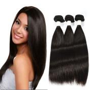 Tuneful Hair 7A Grade Unprocessed Peruvian Virgin Straight Hair 3 Bundles 310ml 36cm 41cm 46cm Natural Colour
