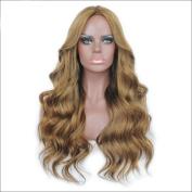 7A Grade 200 Density Wavy Brazilian Virgin Human Hair Lace Front Wigs For Black Women