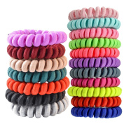 Fashion & Lifestyle Hair Ties Ponytail Holders - Large Boutique Girls Stretchy Elastic Hair Ropes Bands Styling Accessories for Women and Ladies Pack of 10, Assorted Random Colour