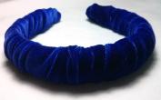 Royal Blue Velvet Headband