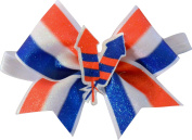 SBC 4th of July Firecracker Bow Little Satin Headband Bow