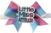 SBC Little Miss Attitude Bow Little Satin Headband Bow
