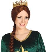 Fancy Dress Party Costume Mediaeval Lady Gold Plastic Hairband Princess Tiara