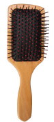 PuTwo Wooden Paddle Hair Brush Detangler, Wood, 90ml