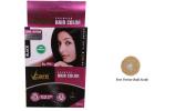 Pack of 4 Vcare Shampoo Hair Colour Black - 25ml + Free Vetiver Bath Scrub