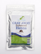 Treasured Locks Grey Away Enhanced Henna- Dark Brown