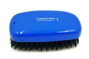 Torino Pro #0651 100% Pure Boar Bristle - Torino Hair Brush Medium Bristles Military Palm Brush- Exceptional Quality Wave Brush