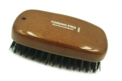 Torino Pro #7451 Reinforced Boar Bristles Military palm Hard Hair Brush - Exceptional Quality WAVE BRUSH