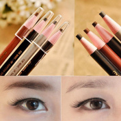 Yoyorule 4pcs Eyebrow Pencil Waterproof Natural Long lasting Enhancer Eyebrow Liner